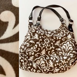 Thirty One fifth avenue purse brown floral
